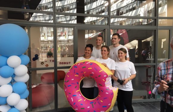 Opening Donut Factory – Retail Innovation Lab en Innovation Networks